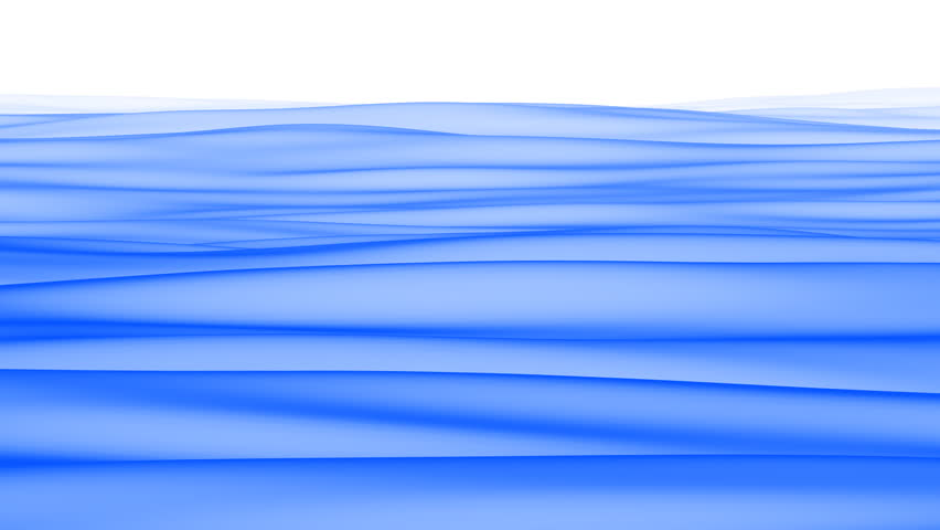 A beautifully animated video background of blue flowing waves.