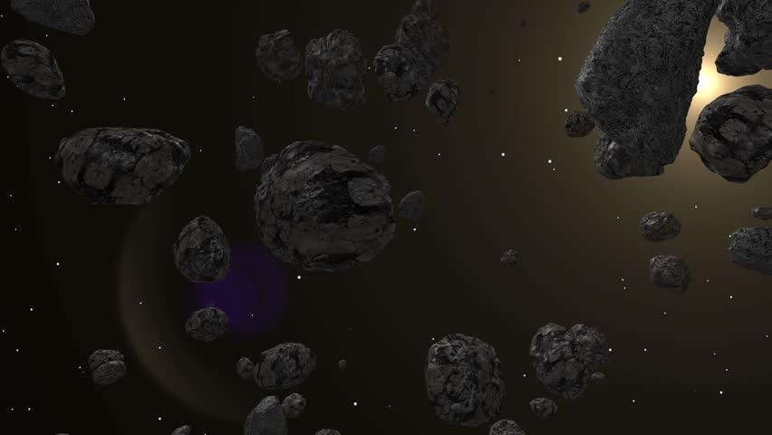 asteroid belt animation - photo #24