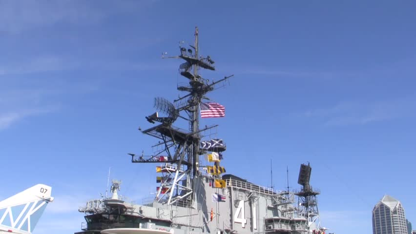 USS MIdway Control Tower