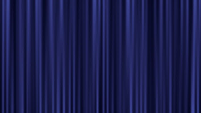 Blue Theater Curtain Stock Footage Video - Shutterstock