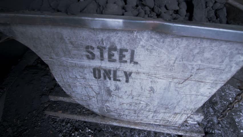 Coal Slag Rock : Slag stock footage video shutterstock