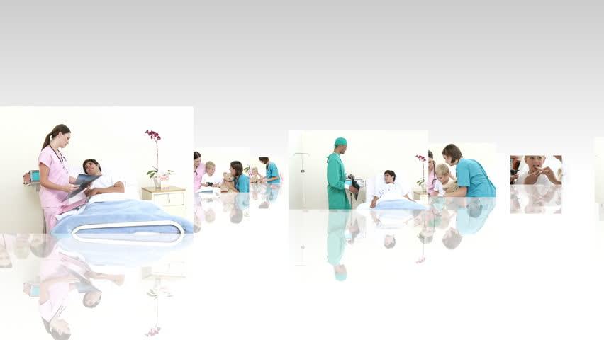 Medical scene in HD  | Shutterstock HD Video #608548
