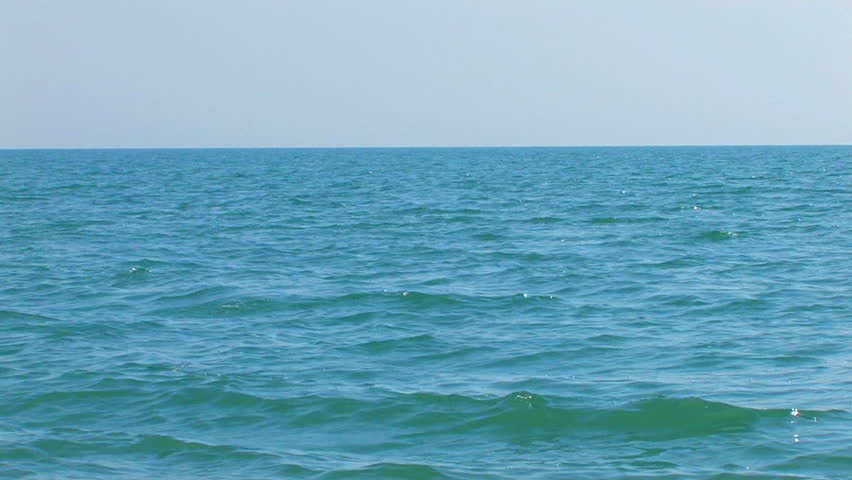 HD sea and sky, Canon XH A1, FullHD video, 1080p, 25fps, progressive scan  #613507