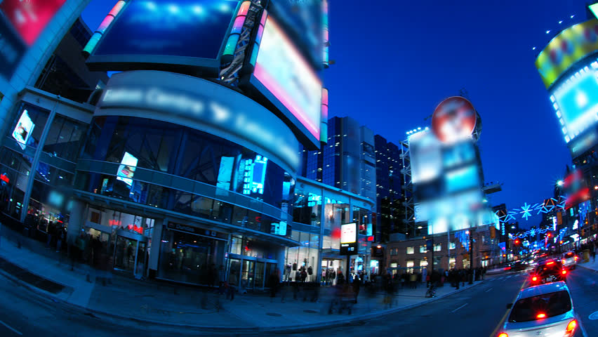 An exciting slice of city life in full HD. Long-exposure timelapse on a panning head, covering 360 degrees. All license plates, faces and logos have been digitally obscured, frame by frame. | Shutterstock HD Video #623929