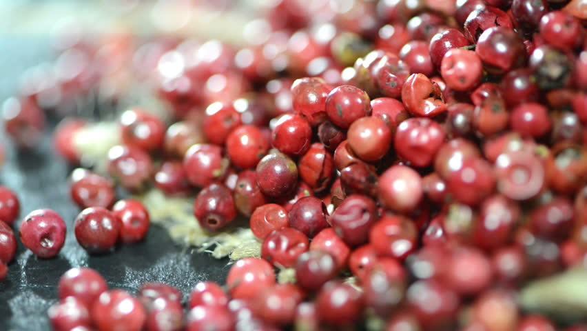 Pink Peppercorns as not loopable full HD video