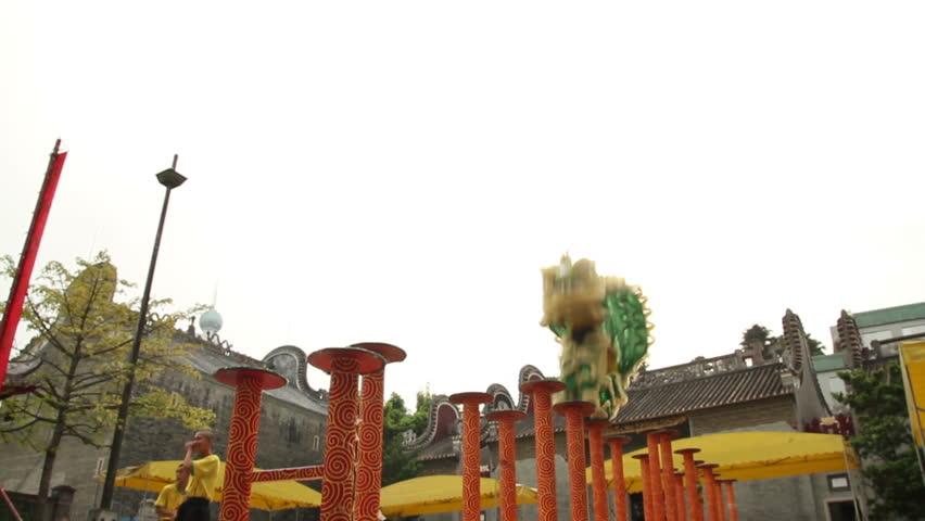 Lion Dancing Pole 2013 Chinese Lion Dance