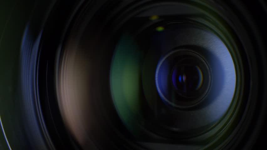 Camera Lens Flare Camera Lens Reflection Macro Video Camera Lens Reflection