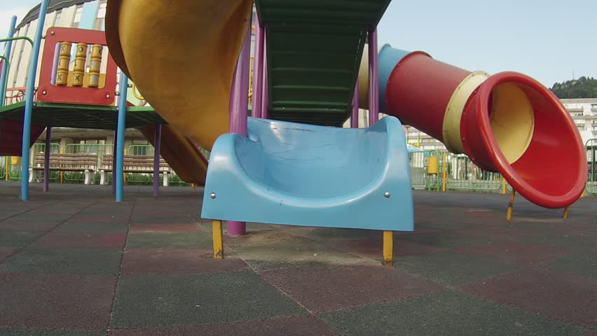 Children playing in the playground.  | Shutterstock HD Video #6775591