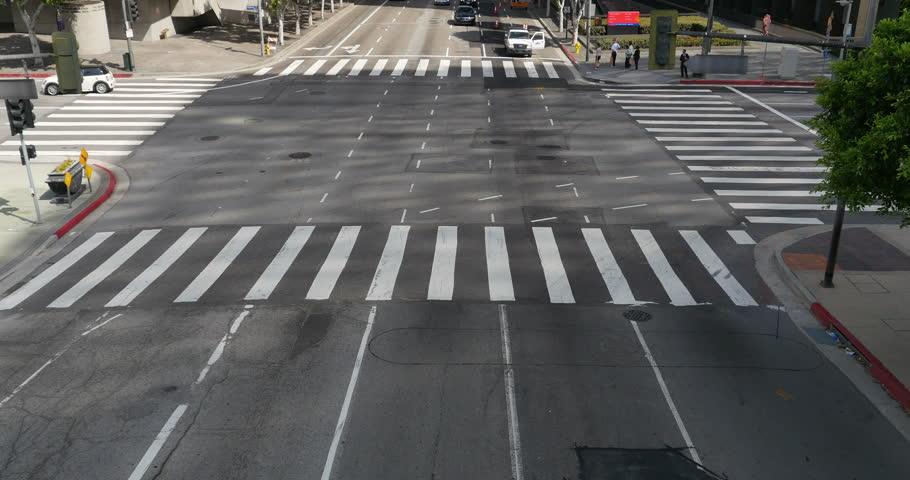 Street Traffic 05 LA Downtown | Shutterstock HD Video #6881566
