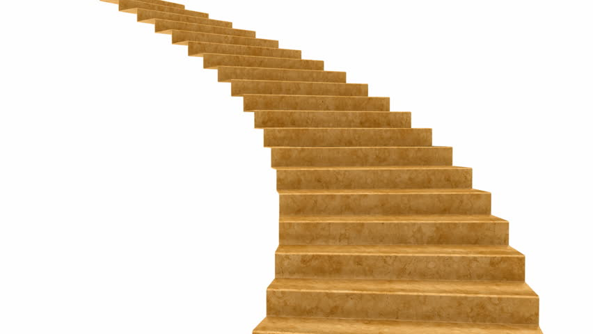 Red Carpet Rolls Down The Stairs Stock Footage Video
