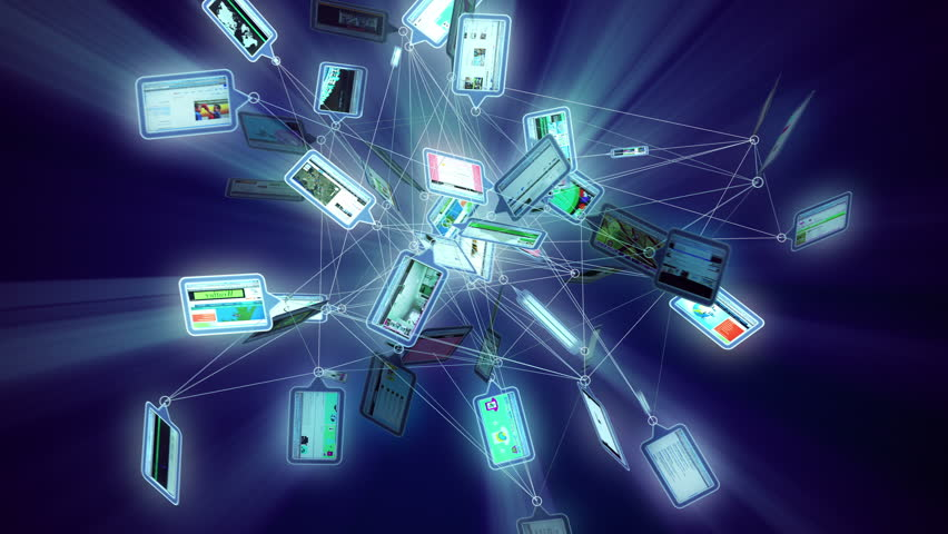 Internet Animation A Spreading Network Of Screens Or