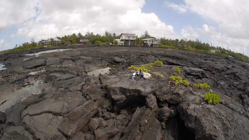 Kapoho, Hawai'i - May, 2014 - 360 degree view of the Kapoho Tide Pools.