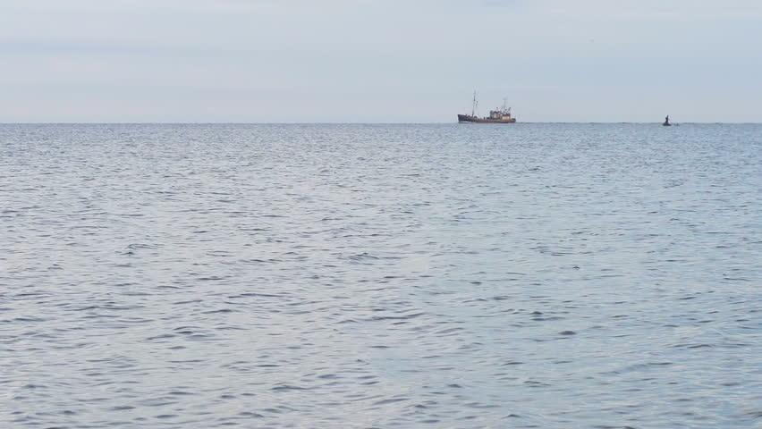 Boat on sea   Shutterstock HD Video #6978388