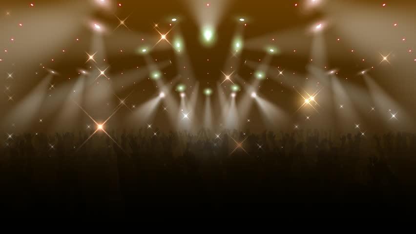 Live Concert. Crowd of cheering.   Shutterstock HD Video #704272