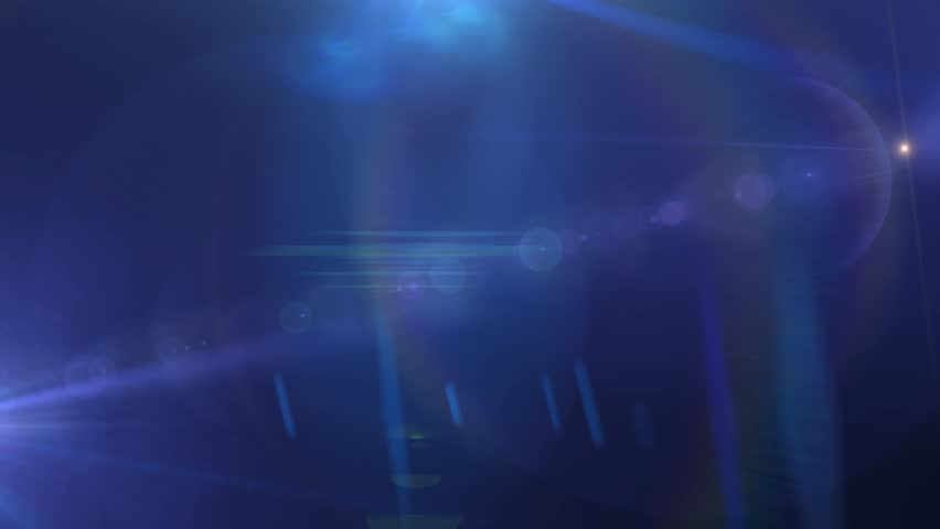 Blue Lens Flares Abstract Motion Backgrounds | Shutterstock HD Video #7118410