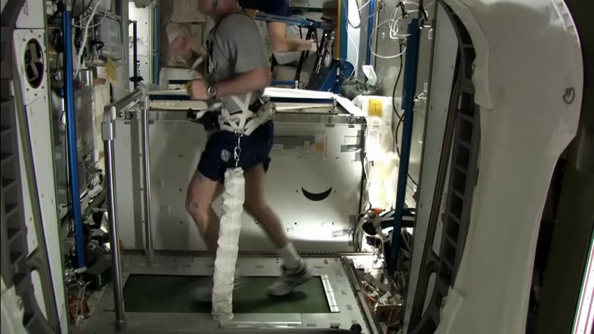 Iss Backyard Viewing : CIRCA 2010s  Life on board the International Space Station  HD