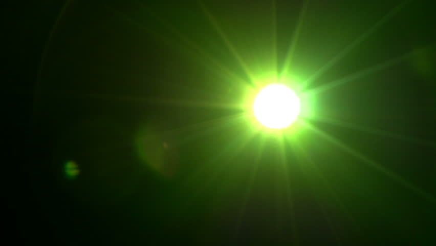 Green Light Effects Stock Footage Video: Free Spotlight Lamp Source Of Illumination #181972 Stock