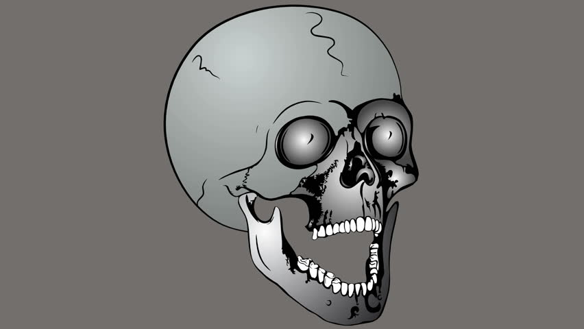 Collapsible skull | Shutterstock HD Video #7171240