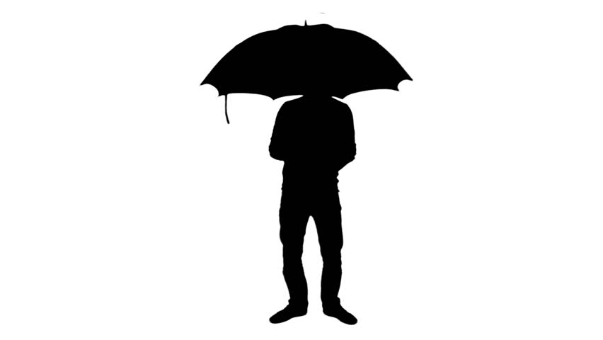 man with umbrella footage page 3 stock clips amp videos