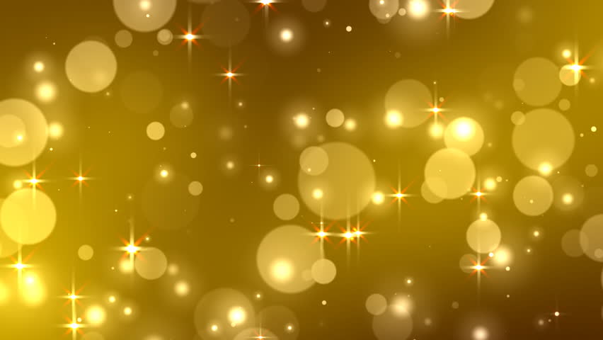 Glamour yellow background with particles effects of light and patches of light vj stock - Glamour background ...