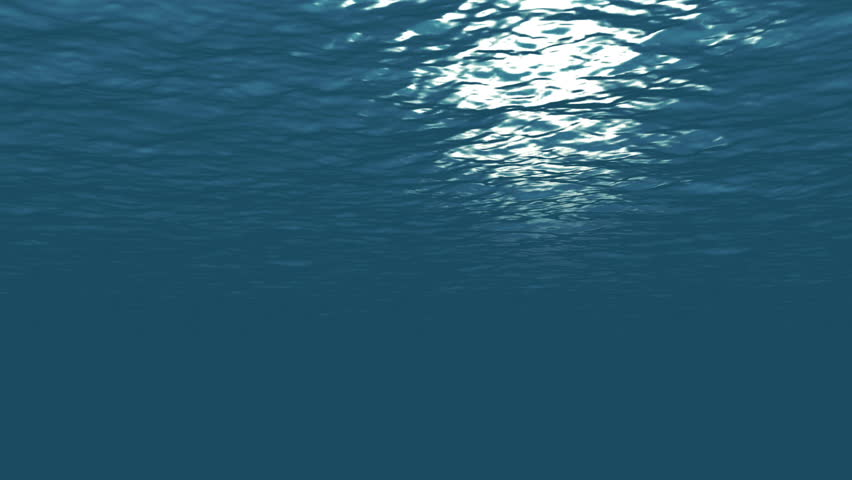 Looping Underwater Animation - 4K Resolution Ultra HD - 4K stock footage clip