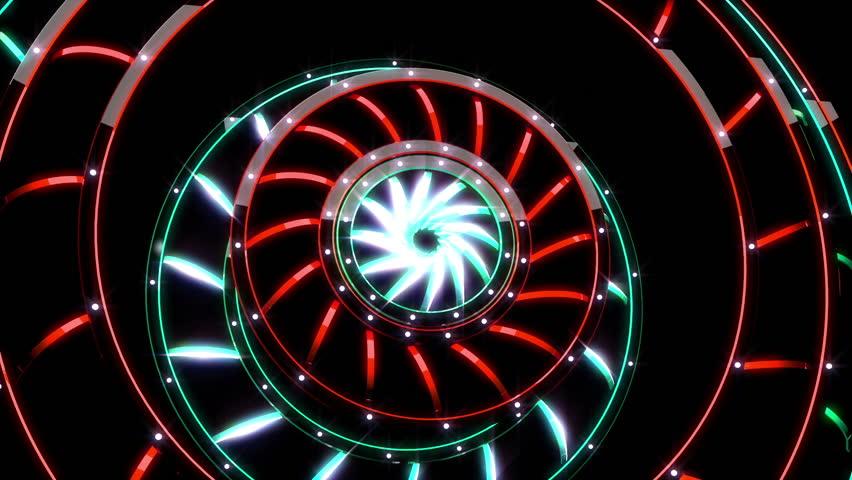Rims - Hi Tech Vj Loop - HD stock video clip