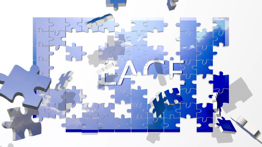 Peace puzzle with Doves