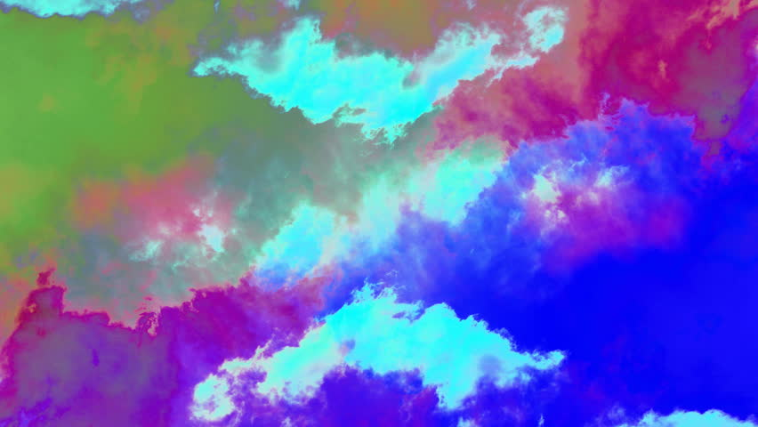 abstracted shot panning across beautiful moving clouds - HD stock video clip