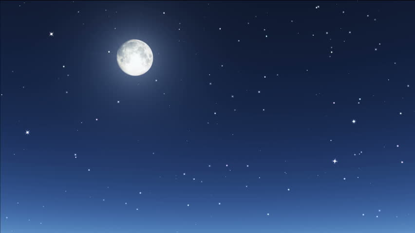 Stars twinkle in night sky stock footage video 743683 shutterstock - Images night sky and stars ...