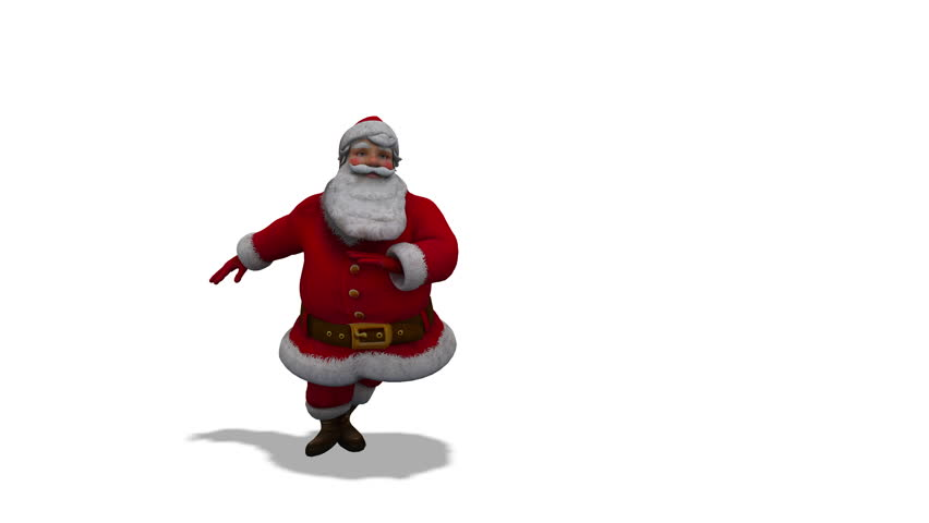 Santa Clicks heels loop 4K with Alpha
