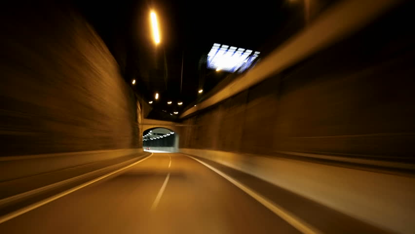 night driving urban city road - HD stock video clip