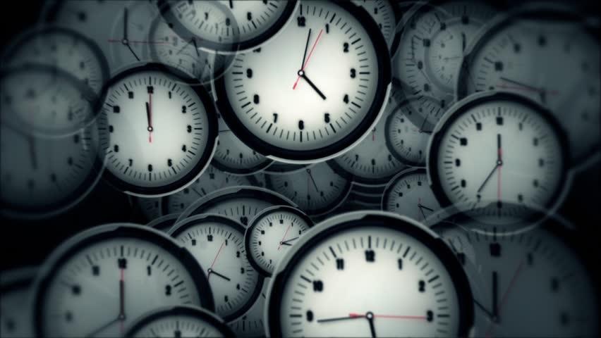 Many Clocks Timelapse | Shutterstock HD Video #7686445