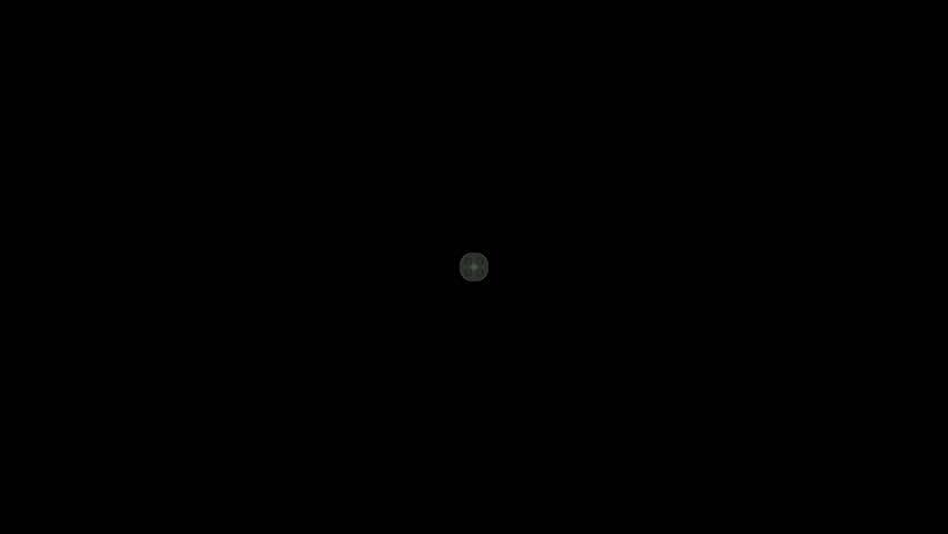red rotation flower pattern,kaleidoscope  - HD stock video clip