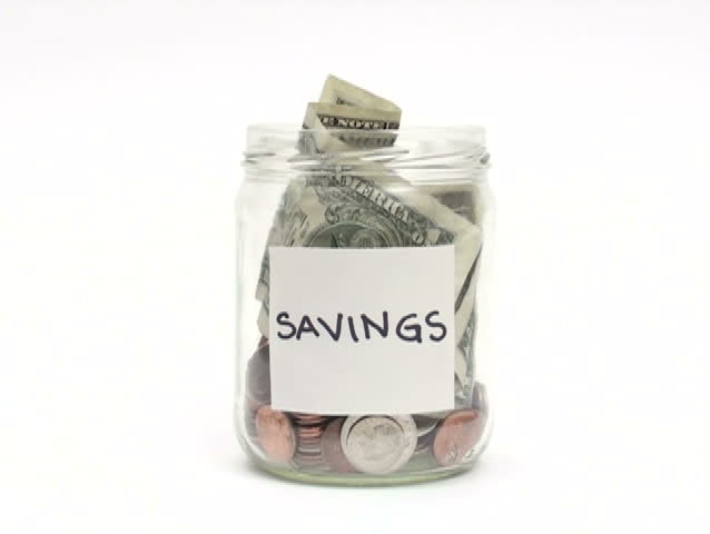 Savings jar and Jars on Pinterest