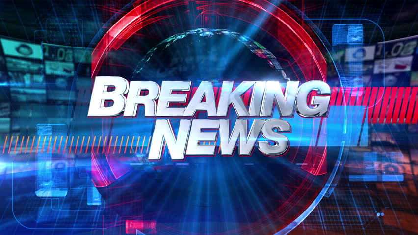 Breaking News - Broadcast Graphics Title Animation | Shutterstock HD Video #7816963