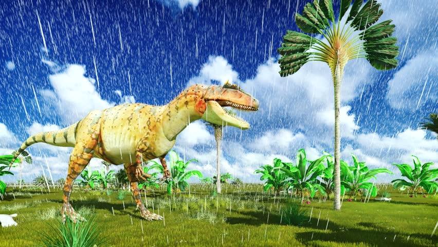 Header of Allosaurus