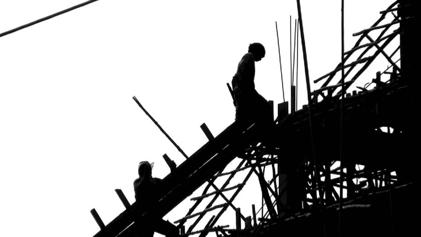 Construction Sign Silhouette
