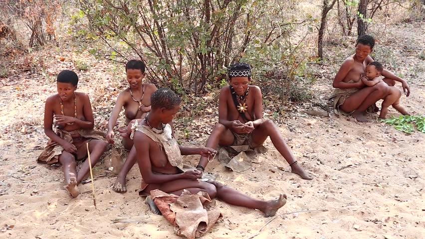 African Village Nude 118