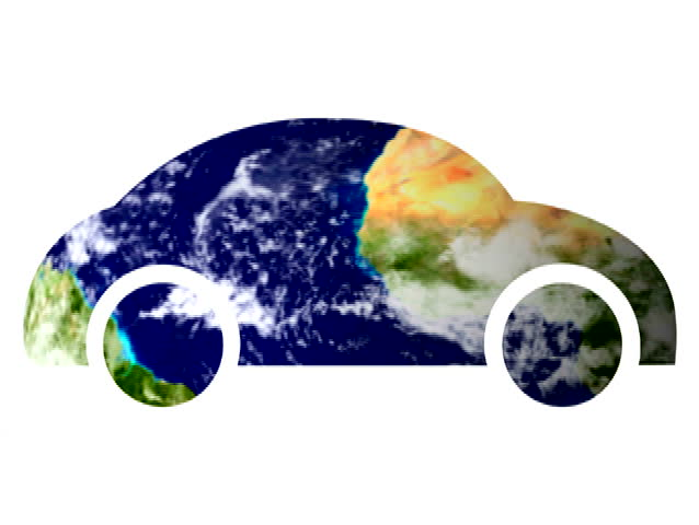 Car symbol and earth - NTSC   Shutterstock HD Video #799834