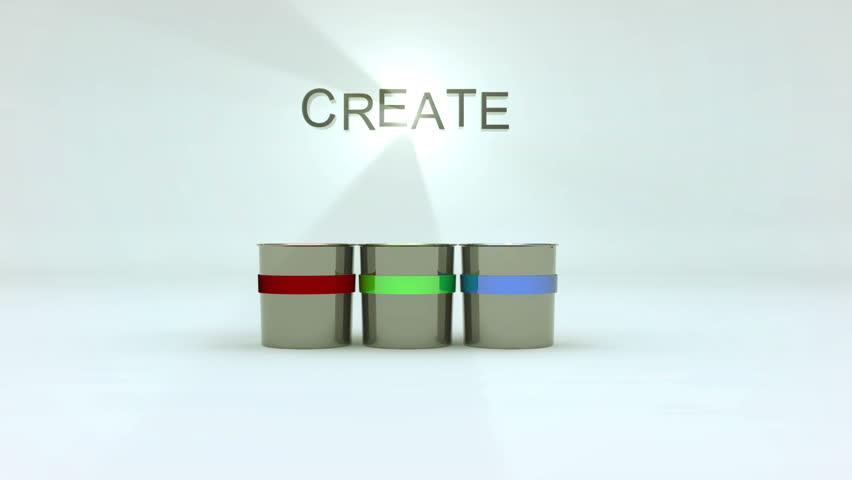 Create paint splashes