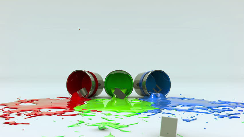 Create paint splashes