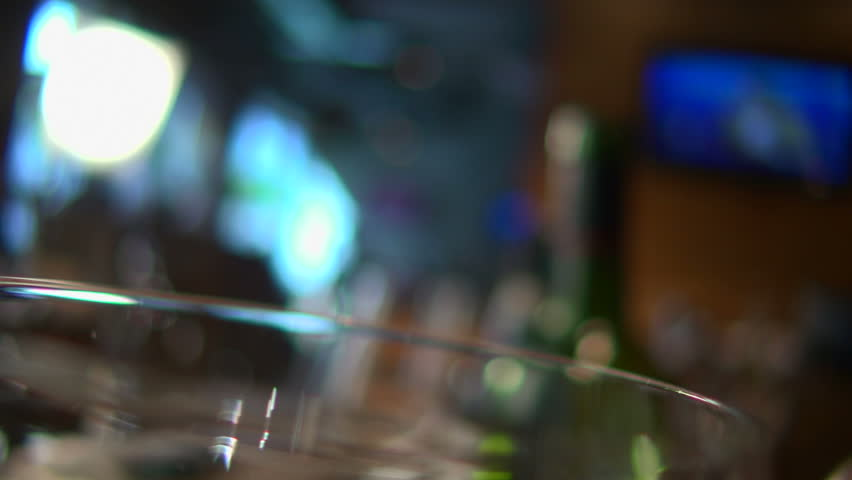 Stock video footage restaurant red wine poured into a glass - HD stock footage clip