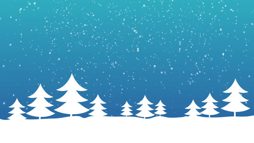 Christmas Trees and Snow | Shutterstock HD Video #8118823