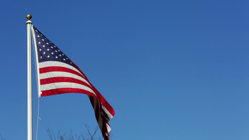 American Flag - HD stock video clip