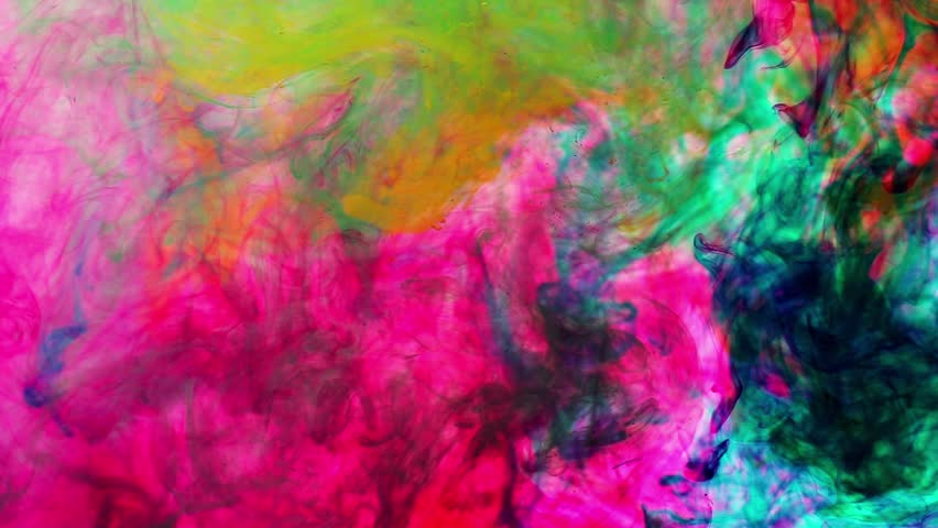 Inks in water the color abstraction | Shutterstock HD Video #8395672