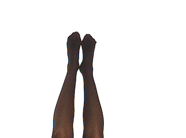 woman legs - SD stock video clip