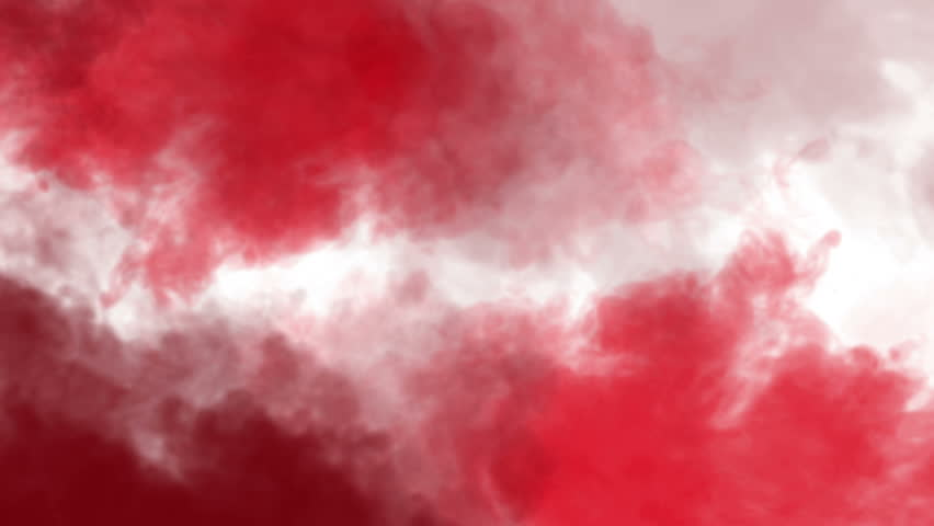 red smoke rising on black background stock footage video