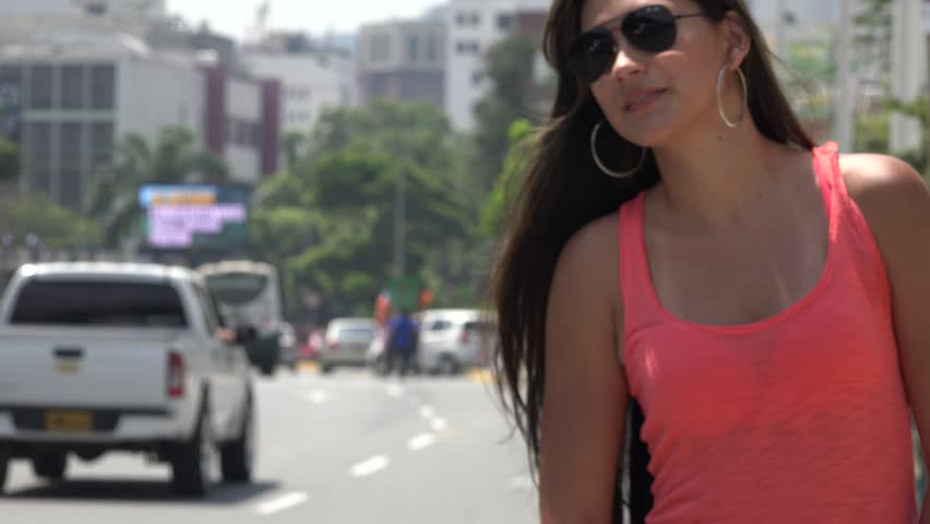 Hailing Taxi Cab, Commuter | Shutterstock HD Video #8546692