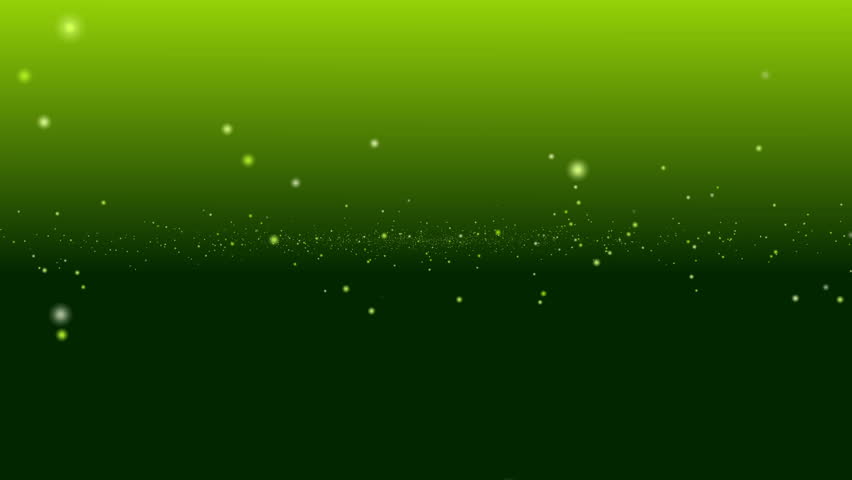 Green And Dark Gradient Background, Center Particle