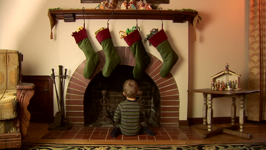 Christmas stockings footage page 6 stock clips videos for Stocking clips for fireplace